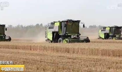 农业农村部:全国将投入64万台联合收割机参与小麦机收