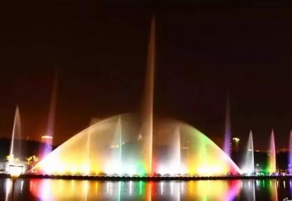 伊通河音乐喷泉将耀眼回归,颜值不输南湖大桥
