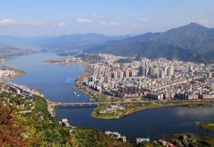 重庆开州:一片湖滋养一座城