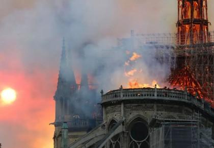 巴黎圣母院火灾调查:初步排除人为纵火的可能性