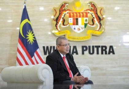 """馬來西亞外長:貿易保護主義無益于國際貿易 """"一帶一路""""給各方帶來機遇"""