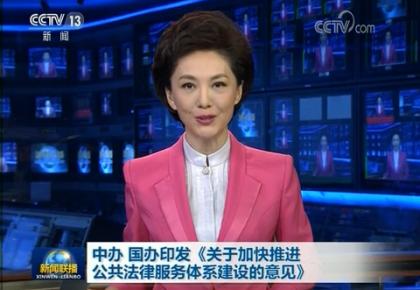 中办 国办印发《关于加快推进公共法律服务体系建设的意见》