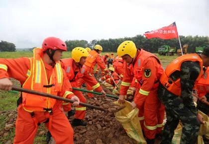 入汛以來全國消防救援隊伍參加抗洪搶險2536起