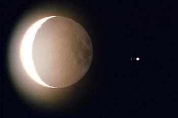 水星西大距和木星合月两大天象同于10日现身天宇