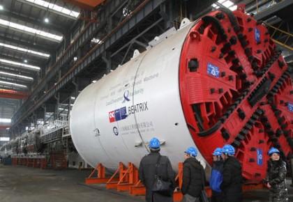 国产盾构机:走向世界的大国重器