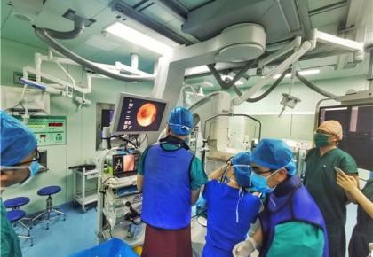 吉大一院完成国内首例应用 国际先进定位技术的肺切除术