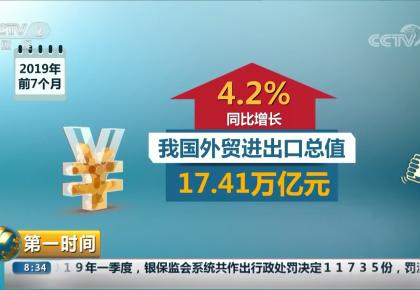 外贸进出口更趋多元化 高附加值机电产品出口增长良好