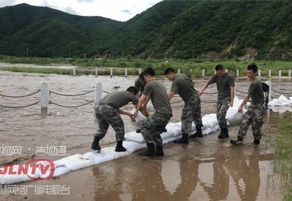 图们市:嘎呀河水位上涨 石岘镇撤离抢险工作有序进行