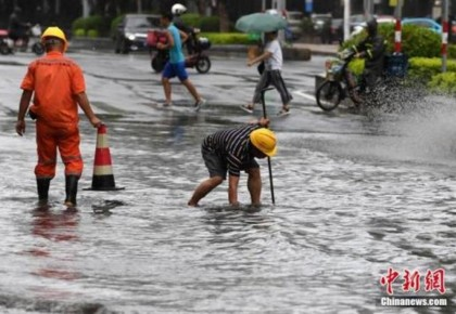 """台风""""白鹿""""减弱为热带低压 中央气象台已停止编号"""