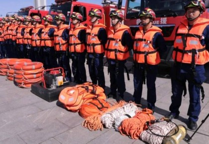 长春市消防救援支队:五片区协同作战 摸排全市低洼处