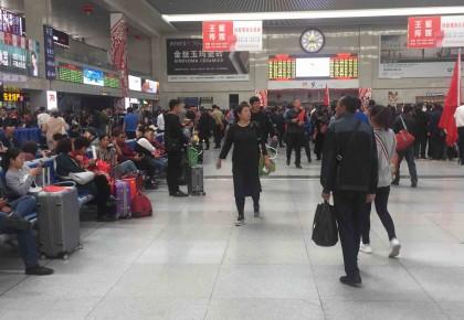 长春站中秋节发送旅客50万人