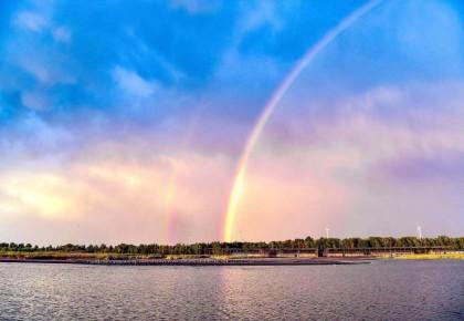 查干湖:秋水连长天 晚霞映红日 人人向往的梦中天堂