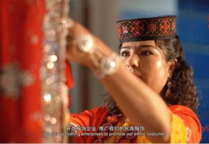 """""""可爱的中国""""之塔吉克族:绚丽的民族服饰 寒冷高原上最靓丽的风景"""