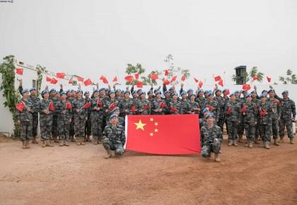 《我和我的祖国》唱响马里 他们在维和战场向祖国深情表白