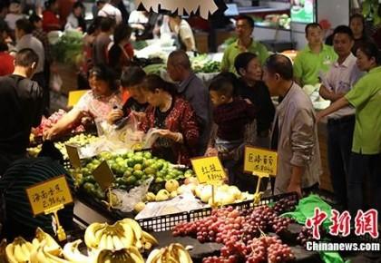 国家统计局:8月CPI同比上涨2.8% 食品价格上涨10.0%