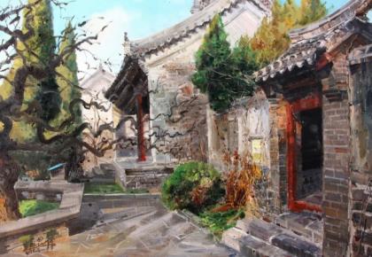 第四届吉林省油画双年展10月23日展出