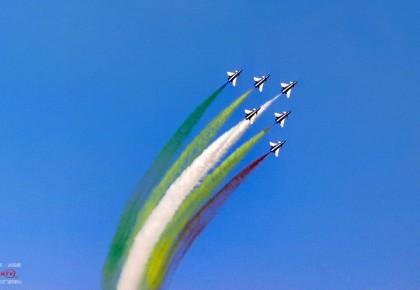 庆祝人民空军成立70周年航空开放活动在长春举行