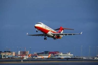 国产喷气支线客机ARJ21开通首条国际航线 哈尔滨直飞符拉迪沃斯托克