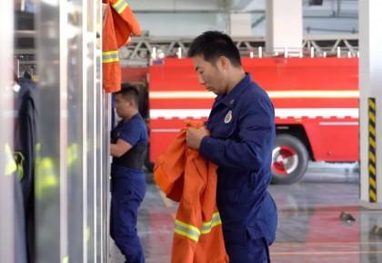 找到他了!这个消防员说,他最想和老妈一起吃顿饭