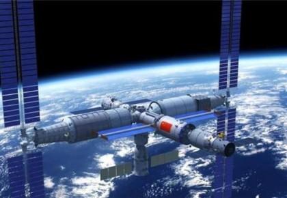 中國計劃2022年前后建成空間站 規模百噸可載3人