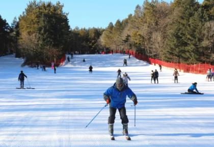 长春净月潭滑雪场11月26日试营业,滑雪走起!