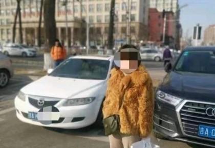 轿车12年未年检 女司机上路被查