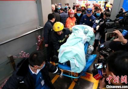 """山东梁宝寺""""11·19""""火灾事故 11名被困人员全部获救"""