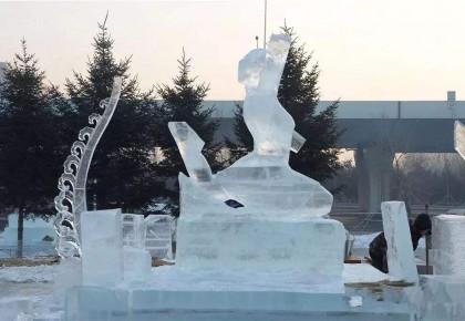 长春再添冰雪打卡地!第二届长春雕塑冰雪天地12日大幕开启