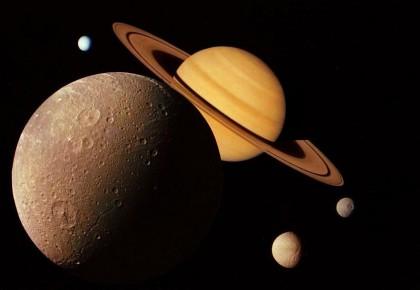 """难得一见!11日傍晚将上演""""金星合土星""""奇特天象"""