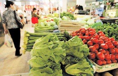 蔬菜生长周期延长 长春市菜价明显上涨