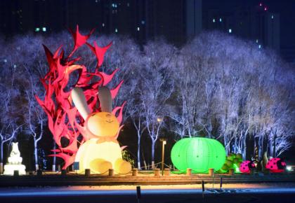 长春雕塑冰雪天地今日正式开园