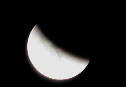 """2020年首個圓月恰逢""""半影月食"""" 看月亮的臉悄悄在改變"""