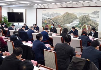 景俊海在省政府專題會議上強調 全面加強物資保障強化科技攻關 為打贏疫情防控阻擊戰夯實基礎