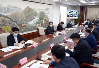 吉林省新型冠狀病毒感染的肺炎疫情防控工作領導小組會議召開