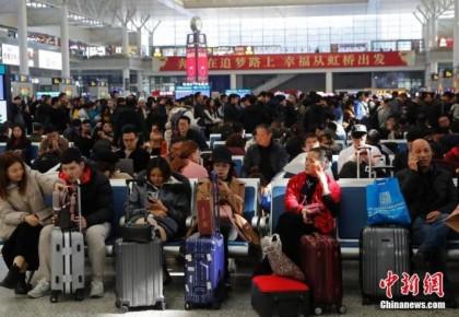 鐵路春運售票第28日售票1400多萬張 熱門方向有余票
