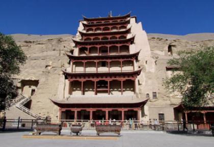 世界文化遺產甘肅敦煌莫高窟5月10日起恢復開放