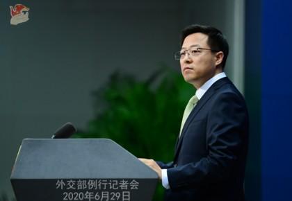 """中國外交部:中美到底誰堅持了""""人民至上、生命至上"""" 答案一目了然"""