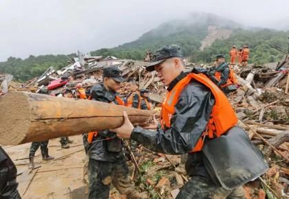 哪里有困难,哪里就有中国军人!