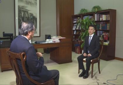 专访香港特区立法会主席梁君彥:国安法是香港的守护神 保障香港的自由和安全