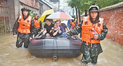 强降雨持续 抢险救灾有力开展(统筹做好疫情防控和防汛救灾工作)