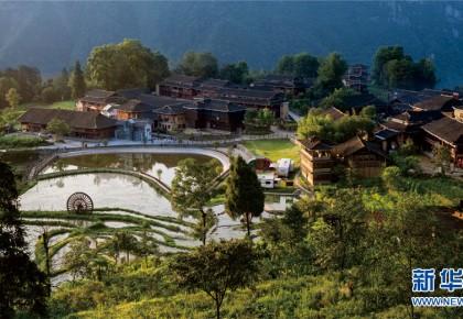 """风景变""""钱景"""" 一个武陵山贫困区县的旅游脱贫路"""