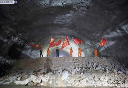 全长1600多米!云南玉楚高速宝山隧道顺利贯通