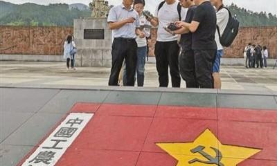 紅軍過夜睡門板(壯麗70年 奮斗新時代·記者再走長征路)
