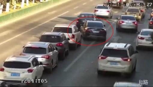 长春冬季交通整治进行时 经常乱变道的司机们注意了!