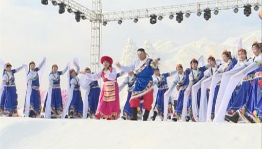 2018敦化冰雪旅游文化节开幕