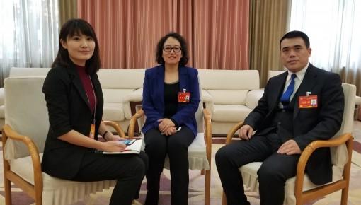 两会直播间|省政协委员彭飞 孙亚鹃为农业发展建言献策