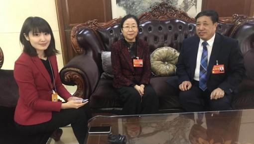 两会直播间|省人大代表陈光、王立春为农业发展建言献策