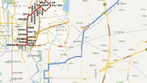 长春247路大幅度更改运营线路 调整后将覆盖兴隆山区域公交盲区