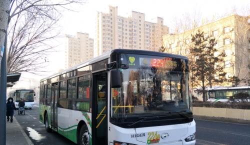 """224路""""纯电""""公交车上线 长春公交正逐步进入""""电动时代"""