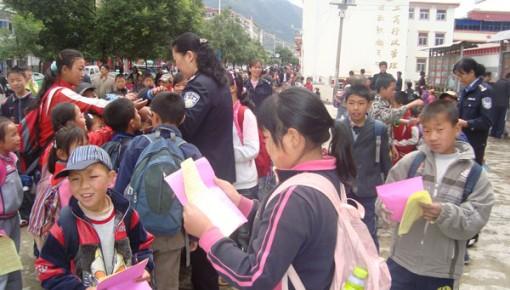 全省110个宣传点 新春集中宣传禁毒